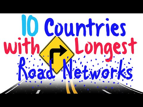 The 10 Countries With The Longest Road Networks
