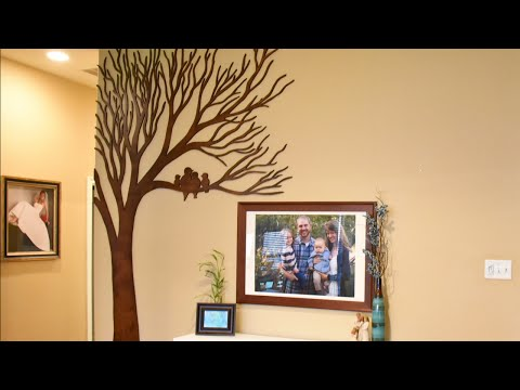 Wood Art for Large Walls - Giant Wooden Tree