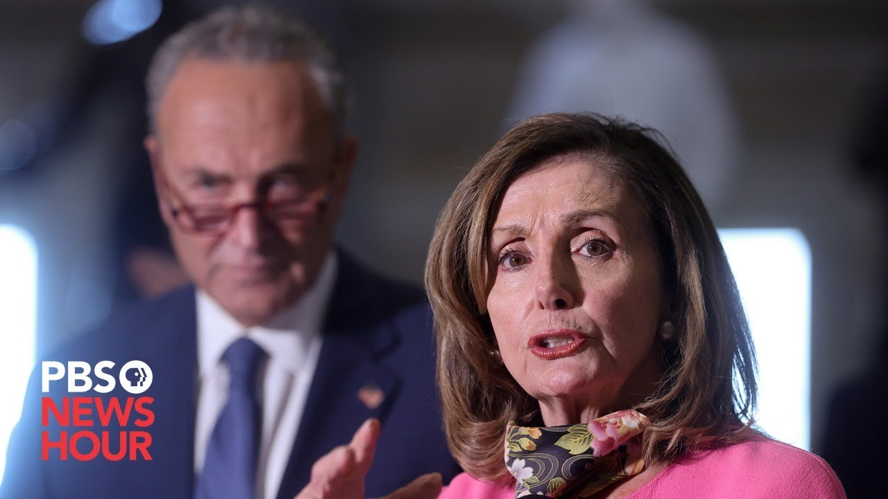 WATCH LIVE: Pelosi, Schumer and Democratic leaders hold news conference on House Equality Act