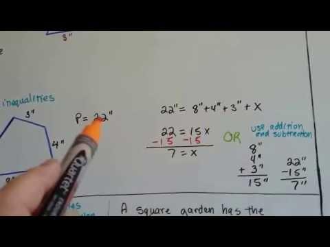 Grade 6 Math #12.1a, Finding the Perimeter of a Polygon