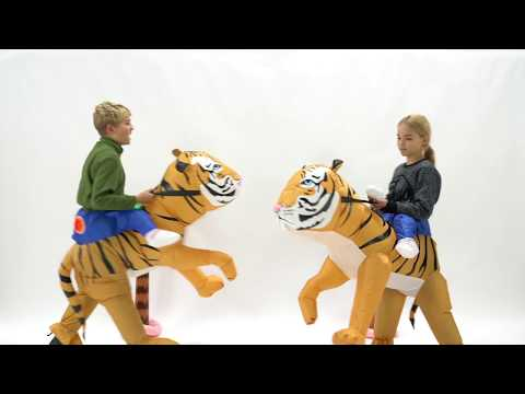 Bodysocks Inflatable Kids Tiger Costume
