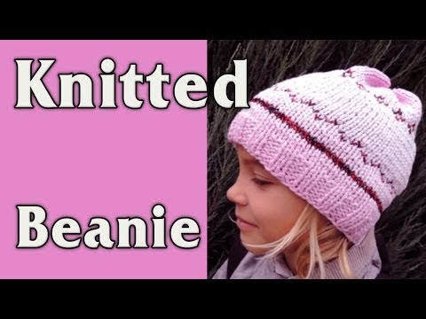 DIY - How to Knit a Hat. Recycle old sweater.