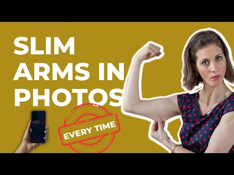 Photo Posing Tips to Slim Upper Arms