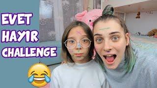 Download EVET HAYIR CHALLENGE OYNADIK | CEZALI | YÜZLERİMİZ BOYA İÇİNDE KALDI - Eğlenceli Çocuk u Video