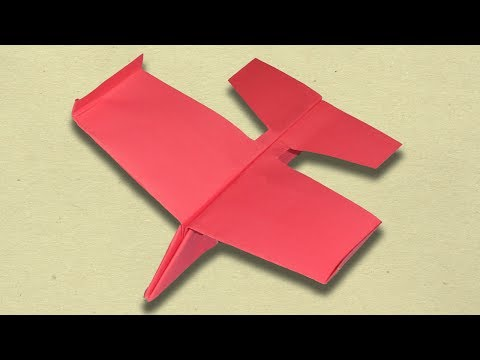 How to Make The Best Paper Glider Airplane - Ultimate Paper Plane Easy.