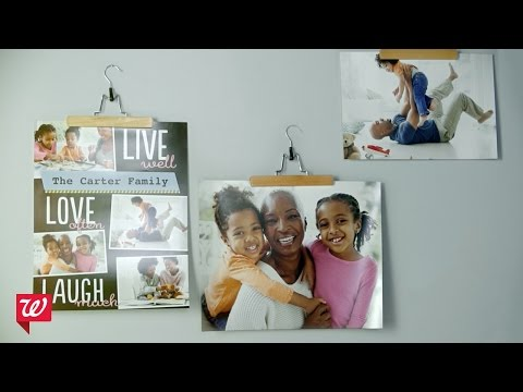 How-To Photo Fun: Poster Frames | Walgreens