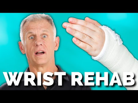 Broken Wrist Exercises after taking off cast (wrist & forearm)