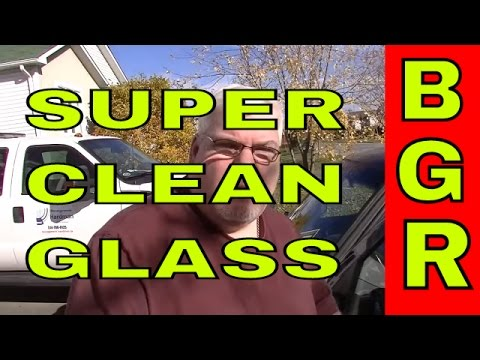 Super clean your windshield with steel wool, Big Guy Review