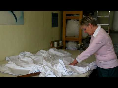 Ducky Down Down Quilts - Manufacturing a Duvet