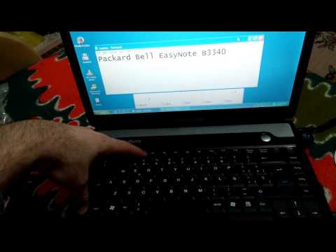How to change Volume using the Keyboard (Packard Bell EasyNote B3340)
