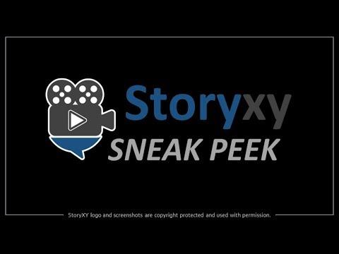 StoryXY Sneak Peek - 3D Video Creation App