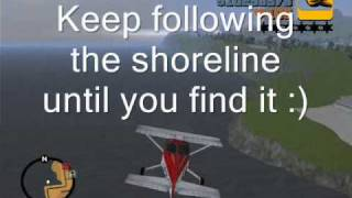 GTA 3 How to fly a Dodo And how to get to the ghost town! (PC)