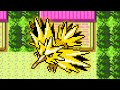 How to catch ZAPDOS in Pokémon Gold, Silver and Crystal
