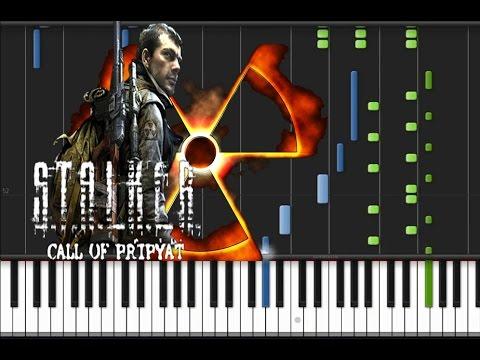 S.T.A.L.K.E.R. Call of Pripyat - Theme Song [Piano Tutorial] (♫)