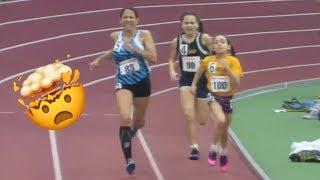 8-Year-Old Wins Women's 400m Race!