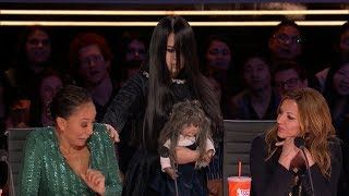 The Sacred Riana Stun The Judge With A Terrifying Imaginary Friend on America
