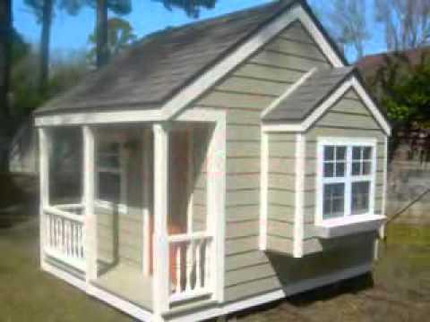 building kids playhouse