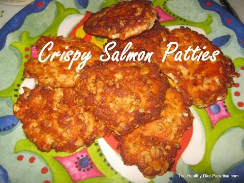 Crispy Salmon Patties Recipe