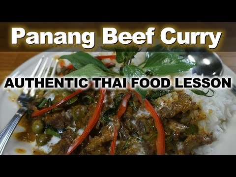 Authentic Thai Recipe for Panang Beef Curry | แกงพะแนงเนื้อ | Kaeng Panang Nuea