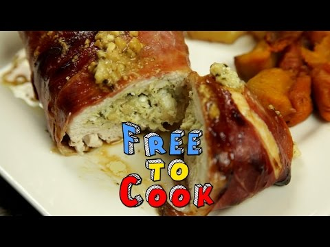 How to Cook Pesto Stuffed Chicken Wrapped in Prosciutto
