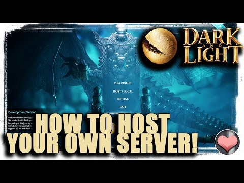 How to Host Your Own Dark and Light Server!