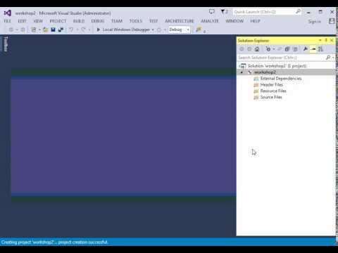 Creating Simple Visual Studio C++ Console Application