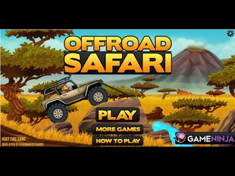 Off Road Safari Games Online ( Part 1 )- Free Car Games To Play Online Now