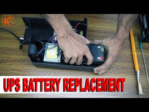 How to Change a UPS Battery | UPS Battery Replacement | Hindi