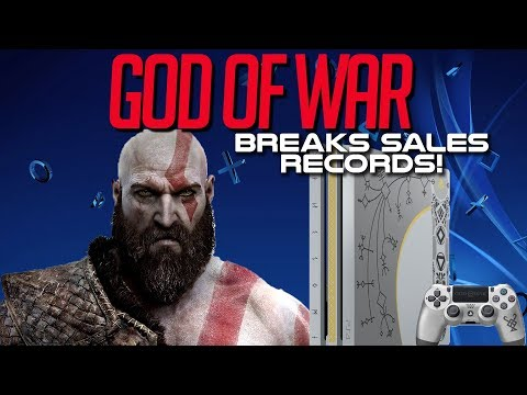 God of War Continues To Shatter Sales Records For PlayStation!