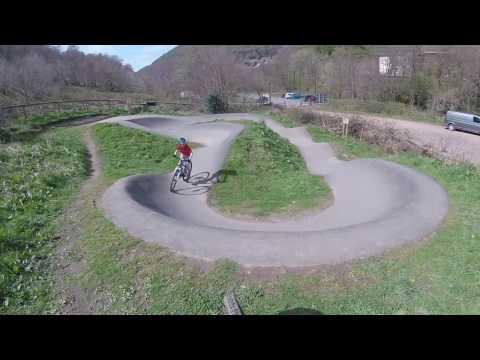 Cycling at Cwmcarn