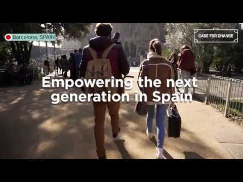 Empowering the next generation in Spain | #CaseForChange