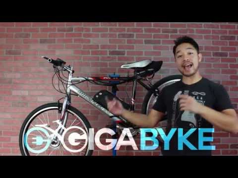 How to Install an Electric Bike Conversion Kit Front Wheel | GigaByke E-Bike Kit
