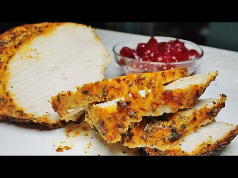 OVEN ROASTED TURKEY BREAST - THANKSGIVING RECIPES - EASY RECIPES