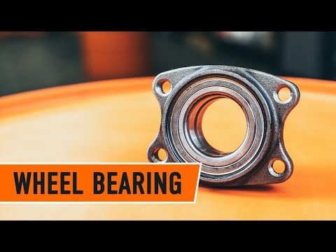 How to replace Rear wheel bearing — VW / AUDI / SKODA TUTORIAL | AUTODOC