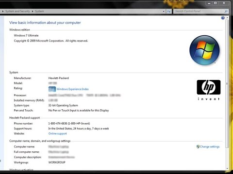 How to add OEM Information in Windows 8 & Windows 7