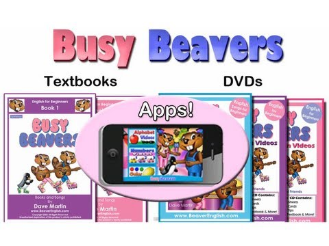 Busy Beavers - Kids Learn English by Singing