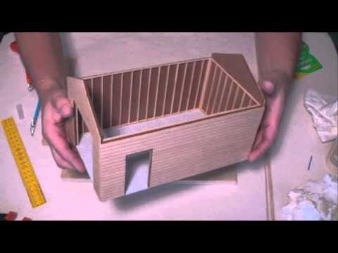Diorama - How To Make A Diorama Building Video Available - HowToMakeADiorama.com