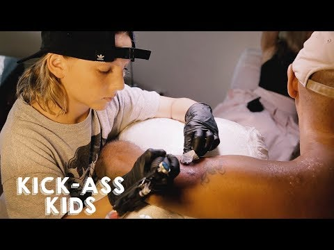 Xxx Mp4 The 12 Year Old Tattoo Artist KICK ASS KIDS 3gp Sex