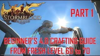 FFXIV Heavensward 3 0 0731 Crafting Macro Level 60 70 Dur