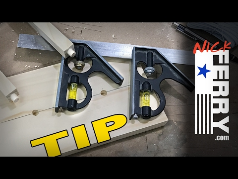 Woodworking TIP - Laying Out Mortises - tips and tricks