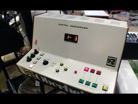 One of the Earliest Digital Sequencers Ever Made
