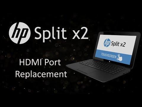 HP Split x2 HDMI Port Replacement