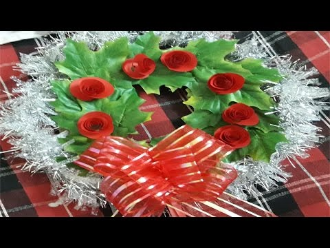 How to make Handmade Christmas Wreaths | Christmas wreath making ideas
