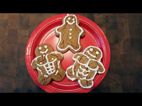 How to Make SOFT GINGER COOKIES - Gingerbread Recipe