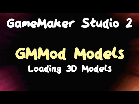 3D Games in Game Maker Studio 2 - Loading Models from Files