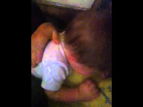 Teething baby running on NO sleep