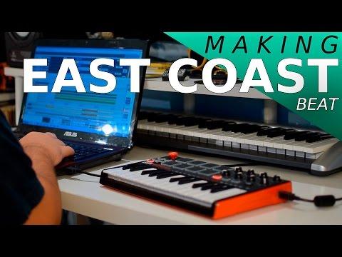Making a beat Akai MPK Mini Ep72