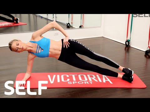 Victoria's Secret Angel Martha Hunt's Abs Workout | SELF