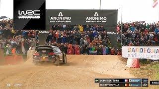 WRC - Rally Italia Sardegna 2018: Neuville vs. Ogier in SSS1