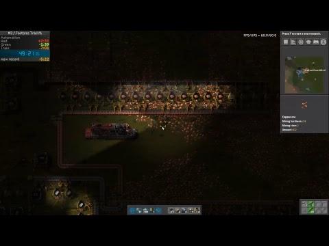 Factorio Newbie Speedrun Track% 001